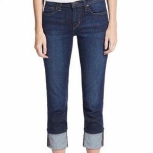 JOE'S jeans Skinny Ankle Cuff Mid-Rise Jeans